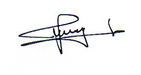 tanda tangan Pak Freddy