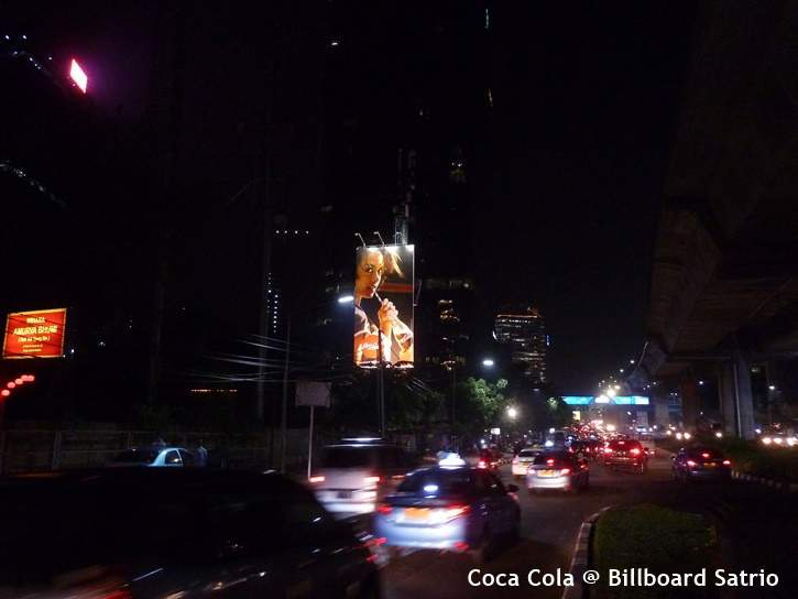 Coca Cola @ Billboard Satrio