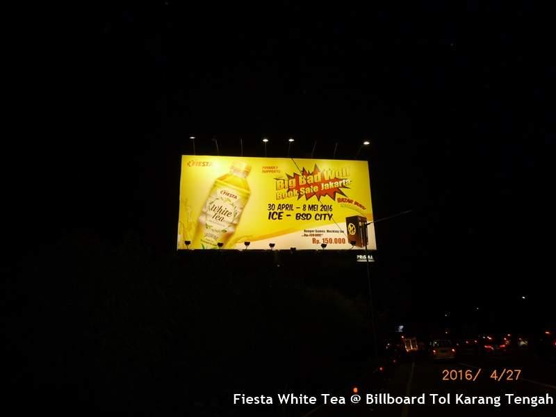 Fiesta White Tea @ Karteng