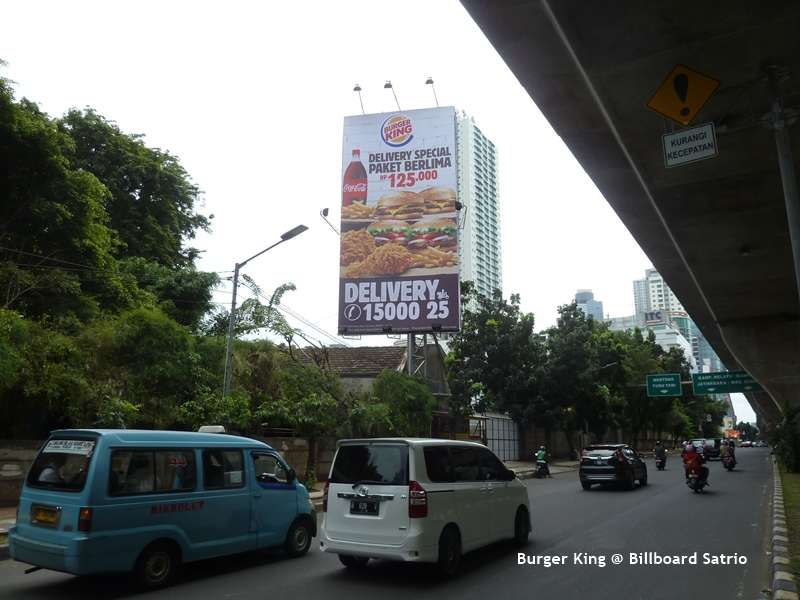 Burger King Billboard